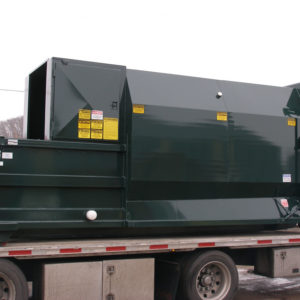 2 Yard Self-Contained Compactor with 20 Cubic Yard Container