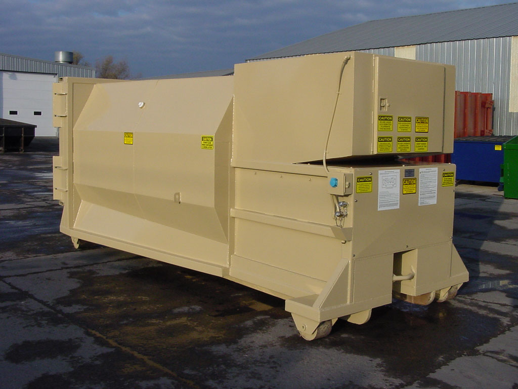 small commercial compactors for those looking for self-contained units
